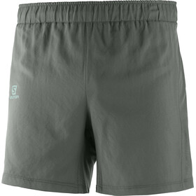 "Salomon Agile Running Shorts Men 5"" grey"